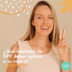 Qué cantidad de SPF debes aplicar a tu rostro?